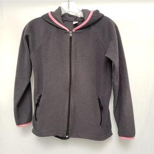 Lightweight Gray Old Navy Fleece Jacket